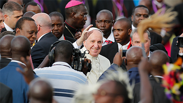 Pope In Kenya: Address during Meeting with Authorities and Diplomatic Corps
