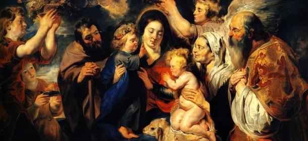Holy Family & John the Baptist sm