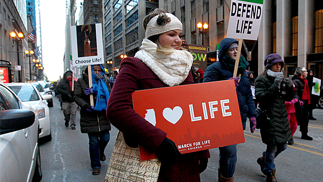 KofC Presents Marching for Life Around the World