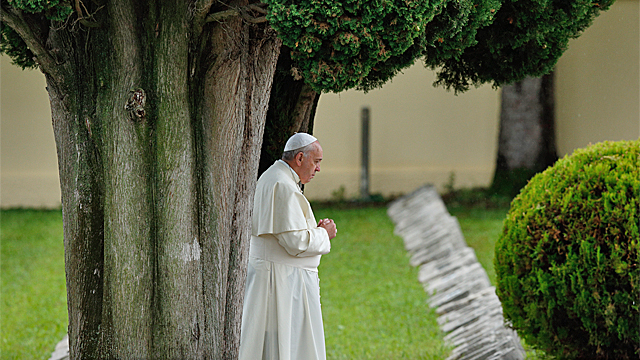Pope Francis' Prayer Intentions for February 2016