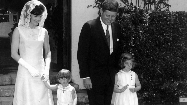 A Walk with the Lord: President Kennedy celebrates Easter