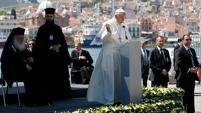 Pope Francis in Lesbos: Joint Declaration of Pope Francis, Ecumenical Patriarch Bartholomew And Archbishop Ieronymos of Athens