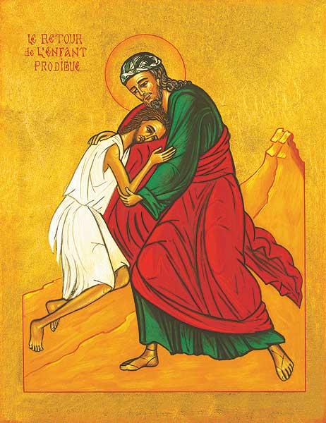Prodigal Son icon Jerusalem