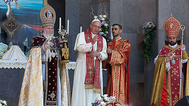 Pope In Armenia: Greeting at the Conclusion of the Divine Liturgy