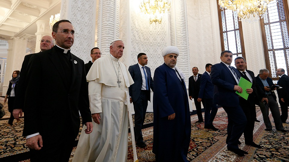 Pope Francis in Azerbaijan: Address during Interreligious Meeting