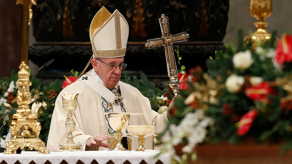 Pope Francis' Homily for the Solemnity of the Epiphany and the Proclamation of Easter