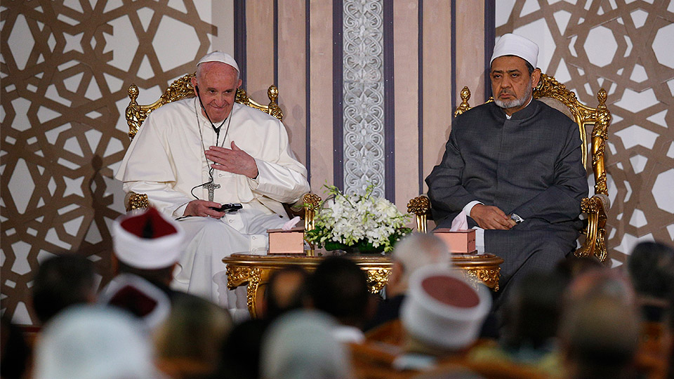 Pope in Egypt: Address at International Conference of Peace