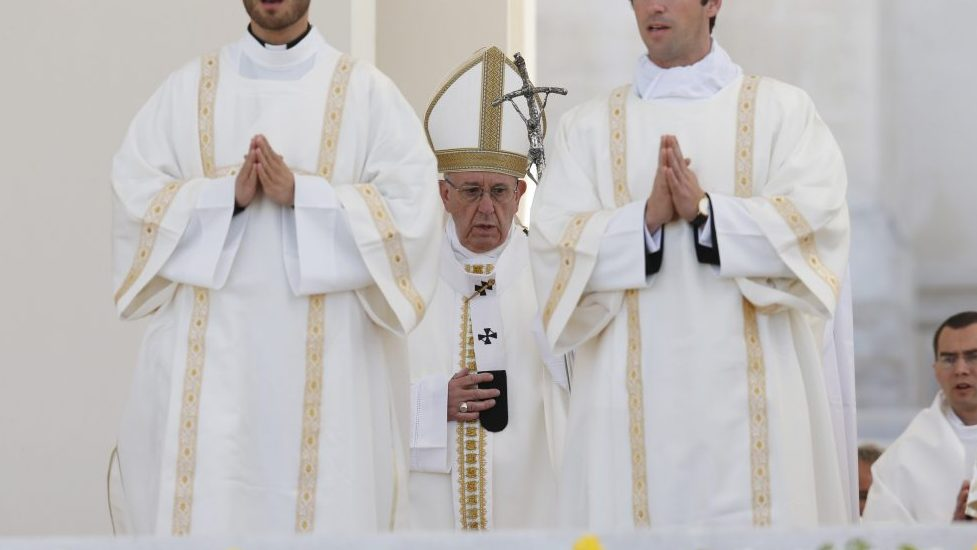 Pope Francis' Homily for Canonization Mass in Fatima