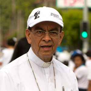 His Excellency Msgr. Gregorio Rosa Chávez – Auxiliary bishop of the Archdiocese of San Salvador