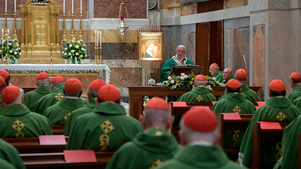 Pope Francis' Homily for 25th Anniversary of His Episcopal Ordination