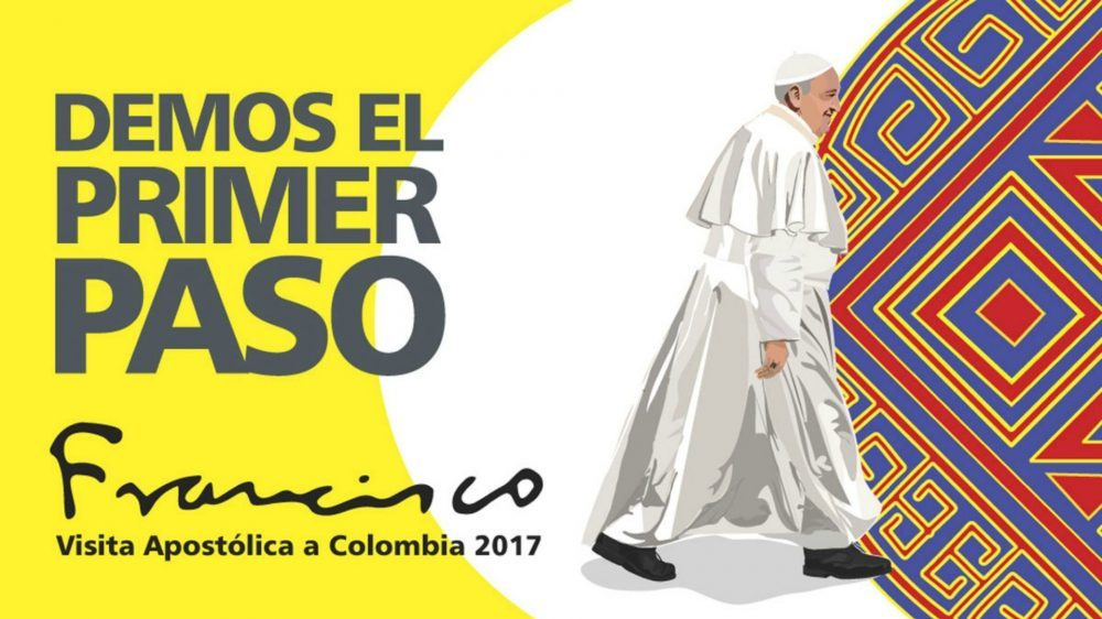 Let's take the first step: Pope's trip to Colombia