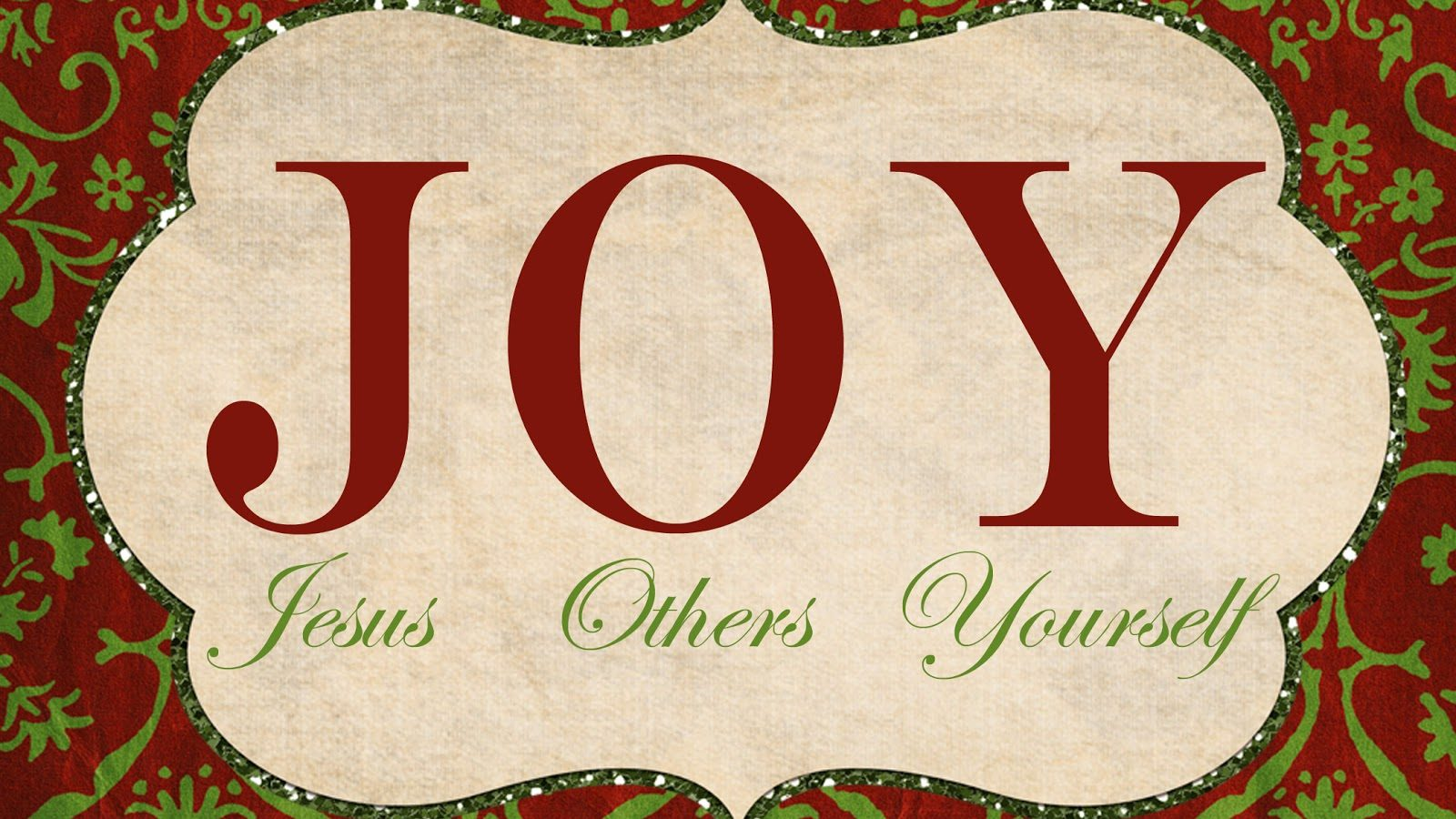 Deacon-structing Love Part 6: JOY