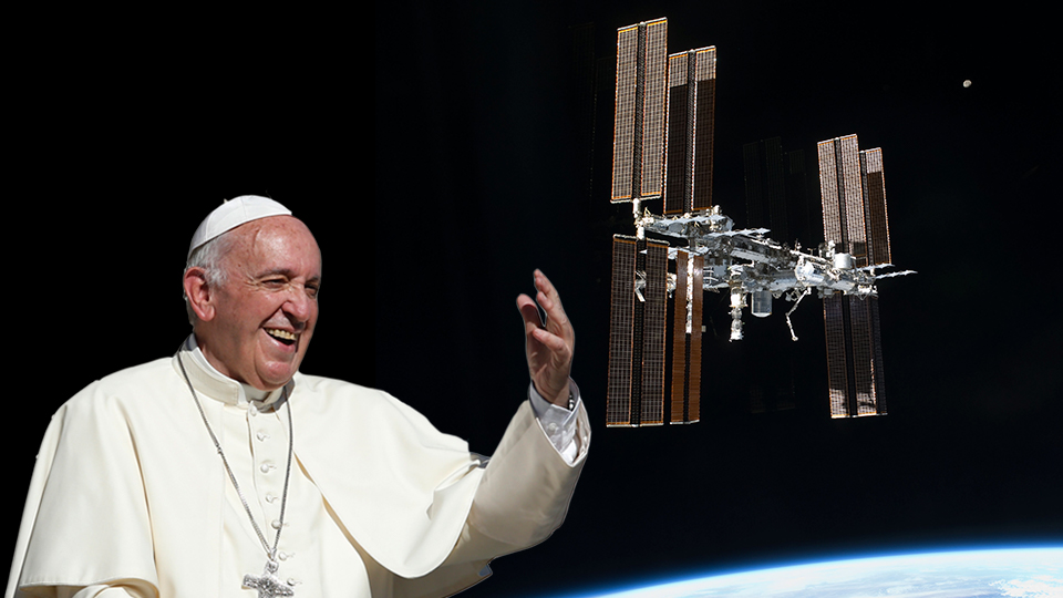 To Infinity and Beyond with Pope Francis – Rewatch now