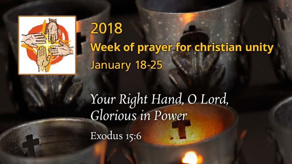Week of Prayer Christian Unity 2018