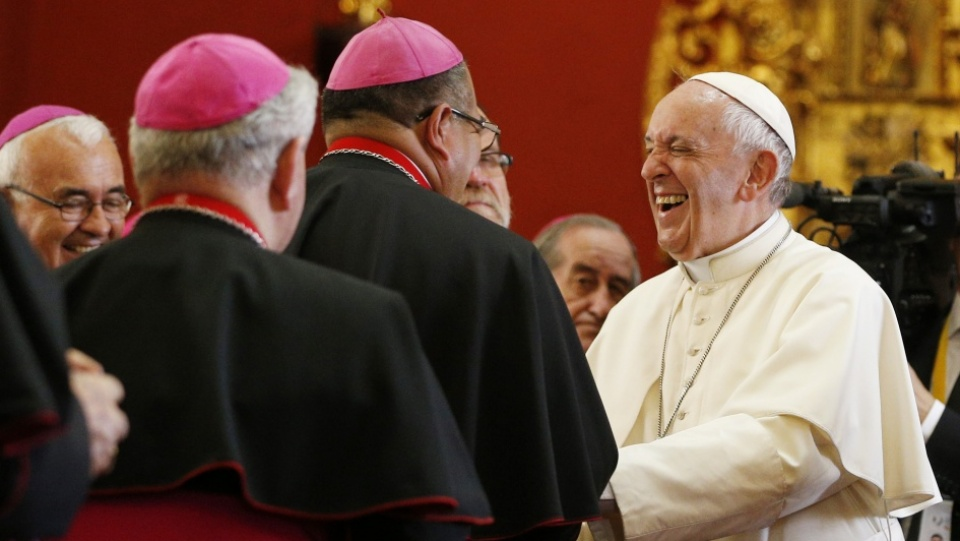 Pope's Address at Meeting with Peruvian Bishops: Full Text