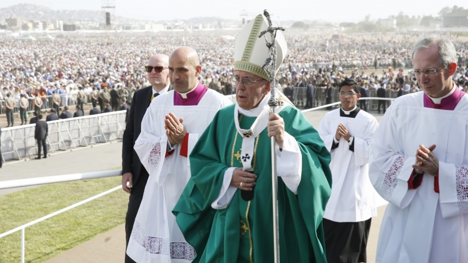Pope's Homily At Final Mass in Lima, Peru: Full Text