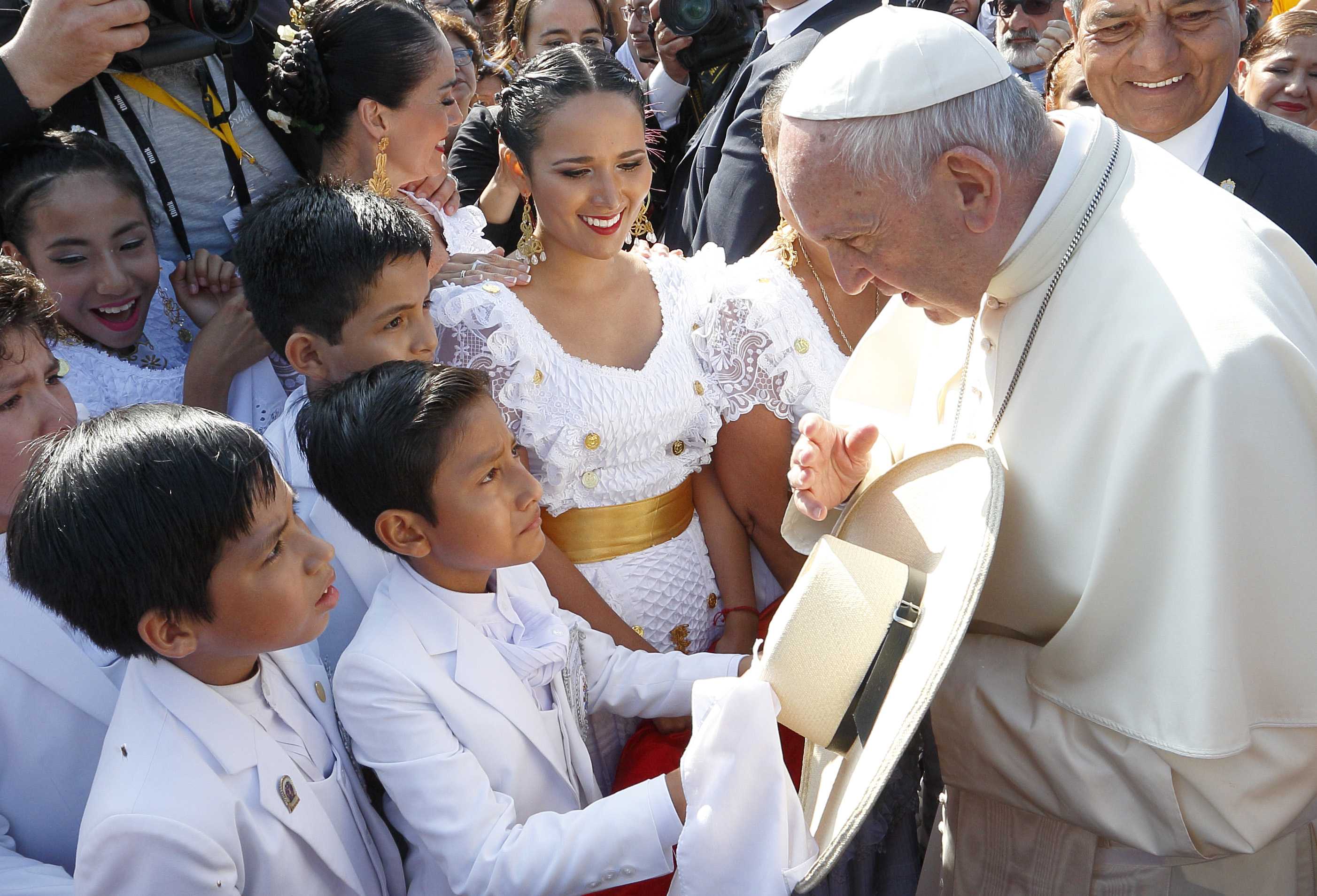 Popes Homily at Huanchaco Beach, Peru: Full Text