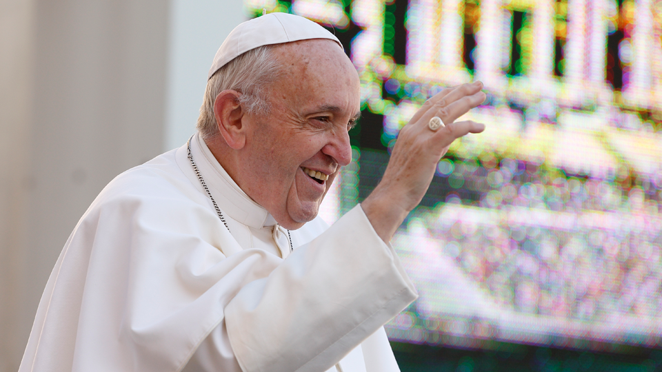 Pope Francis' First General Audience: Open the doors of your heart