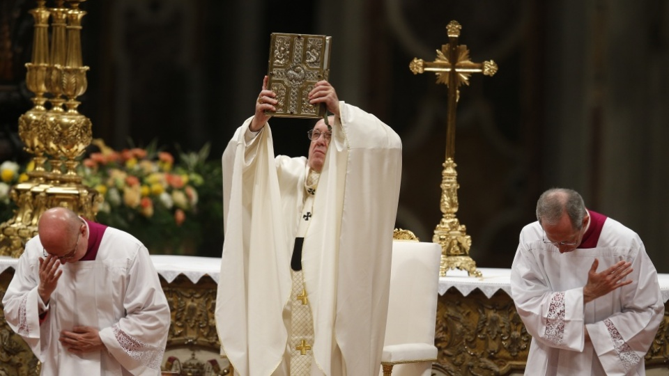 Easter Vigil Homily of Pope Francis in St. Peter's Basilica