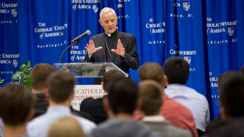 Cardinal Wuerl Talks with Students from the University of America & Reflects on the Challenges of Racism in Society