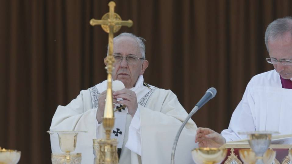 Homily of Pope Francis for the Solemnity of the Most Holy Body and Blood of Christ