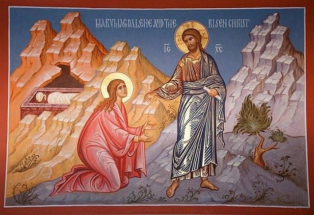 Mary Magdalene & Jesus icon