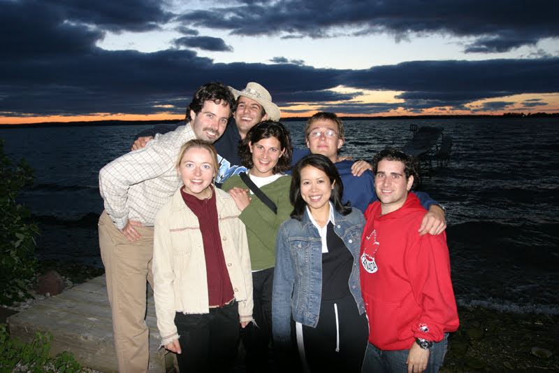 With S+L friends at a staff vacation on Strawberry Island