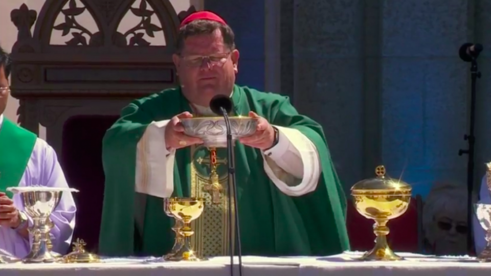 Homily by Cardinal Gérald Cyprien Lacroix Archbishop of Quebec Primate of Canada