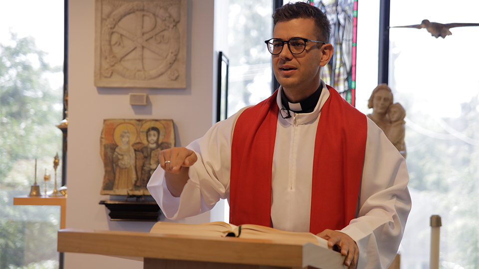 Falling in Love: Fr. Rob Galea preaches at S+L