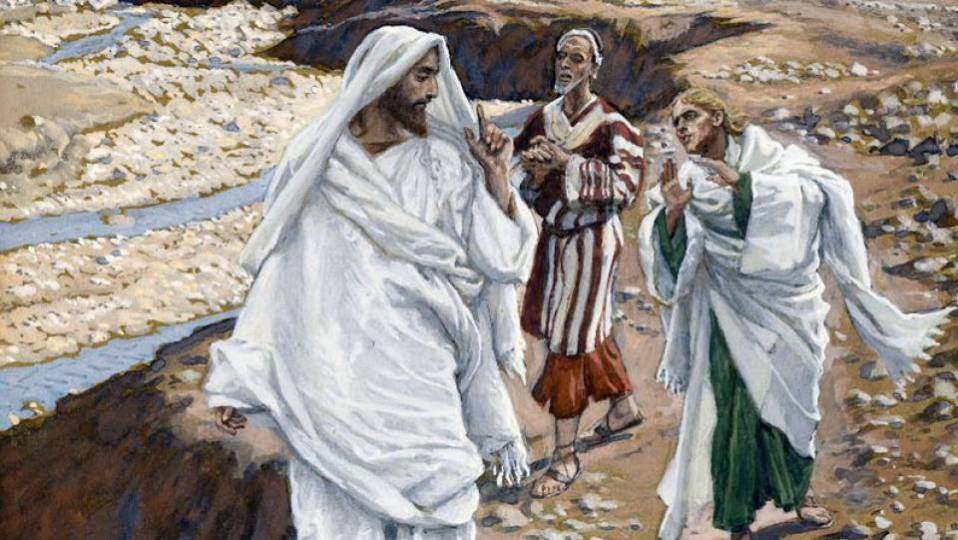 The Calling of the First Disciples by James Tissot