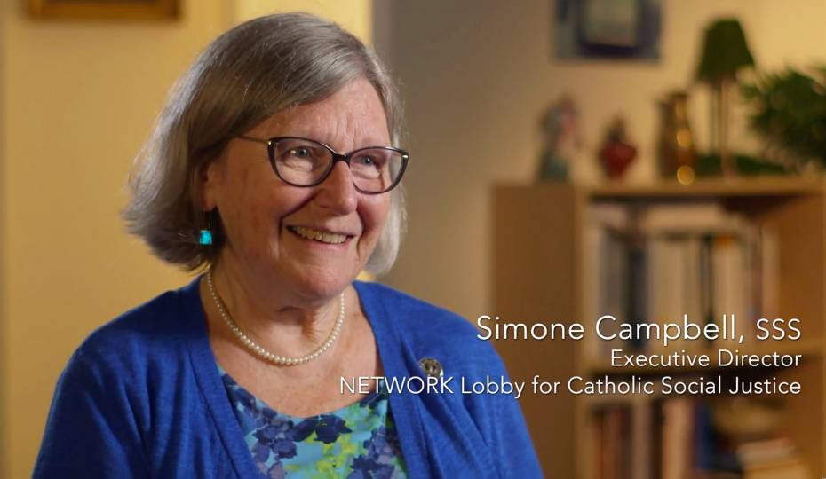 <strong>#TFImoments:</strong> Sr. Simone Campbell and the pope's critique of trickle-down economics