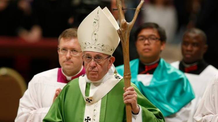 Homily of Pope Francis for the Concluding Mass of the Synod