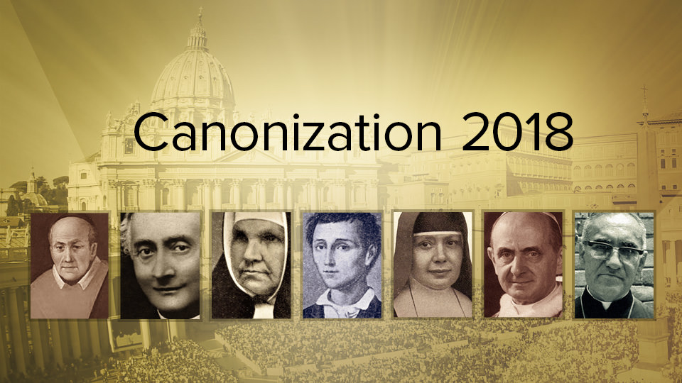LIVE Mass of Canonization on S+L TV
