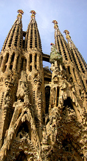 Camino de Santiago and the Sagrada Familia Church