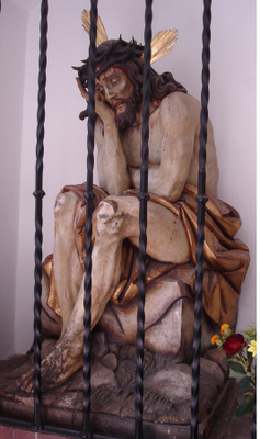 Man of Sorrows, Sts. Peter and Paul Church, Oberammergau, Germany