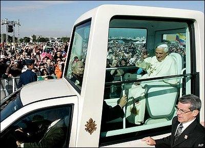 Pope Benedict XVI in Brazil, AP