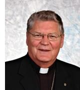 Archbishop Martin Currie, newly appointed to the Archdiocese of St. John's Newfoundland and Labrador