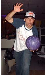 S+L's Matthew Harrison bowling with gusto