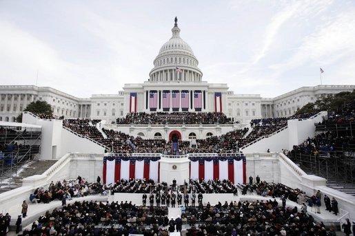 Barack Obama's inauguration in Washington, D.C.