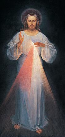 Image of the Divine Mercy in Vilnius, Lithuania