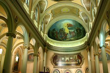 Ceiling of St. Paul's Basilica in Toronto