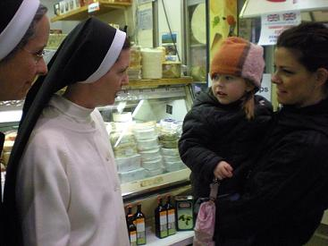 Girl at St. Lawrence Market mistakes Dominican Sister for Miss Clavel
