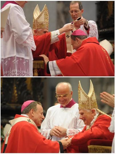 Vancouver's Archbishop Michael Miller.  Photo courtesy of L'Osservatore Romano's Servizio Fotografico