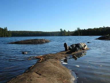 Maggie Lake in Algonquin Park