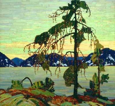 Thom_Thomson,_Le_Pin,_1916-1917,_huile_sur_toile,_127,9_x_139,8_cm,_Musée_des_Beaux-Arts_du_Canada