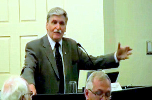 Senator Romeo Dallaire at the World Religions Summit