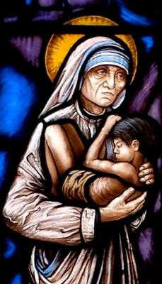Mother Teresa Window
