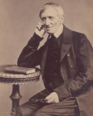 Cardinal Newman, 1865. CNS photo/courtesy Fathers of the Birmingham Oratory