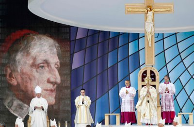POPE-BRITAIN/NEWMAN