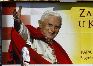 The Holy Father Pope Benedict  XVI visits Croatia